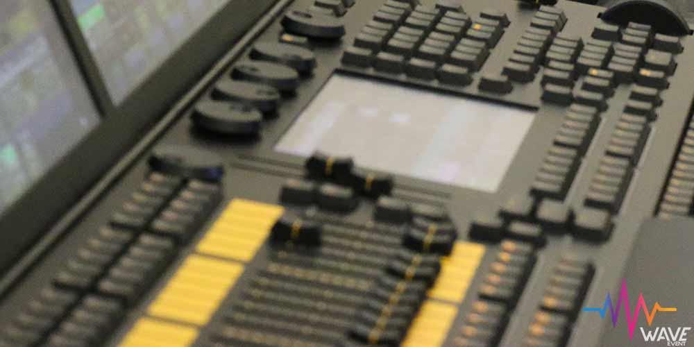 Pupitre GRANDMA2 Light location console lumiere