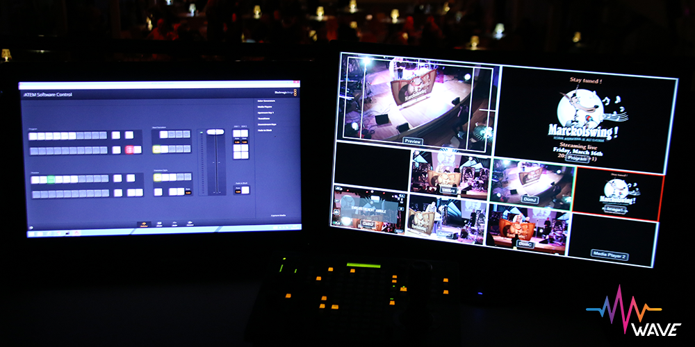 Redifusion Streaming WEB, Blackmagic, Camera Lyres, ATEM Studio