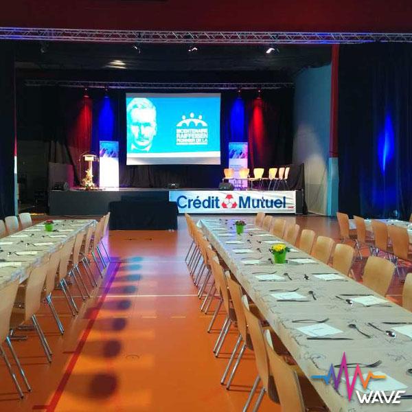 Assemblée générale crédit mutuel de L'ill / Huttenheim